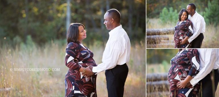 Outdoor maternity photography by Douglasville photographer