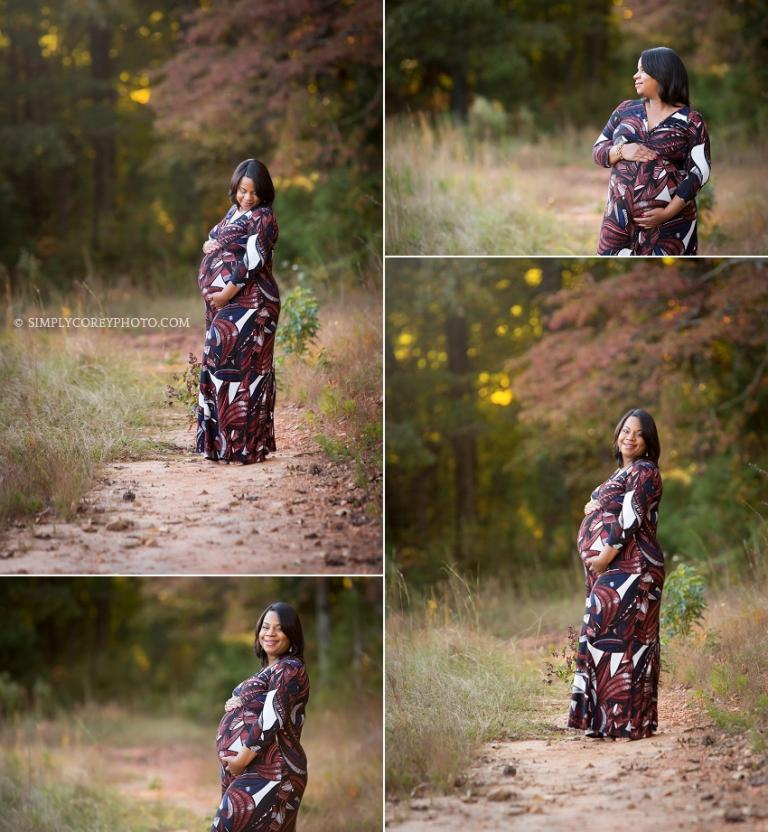 outdoor portraits by Carrollton maternity photographer
