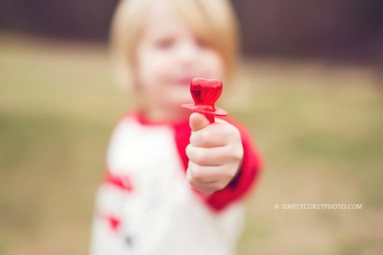 valentines day photos by atlanta child photographer