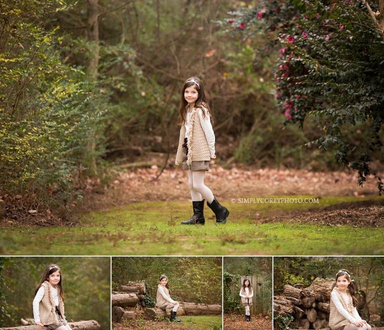 outdoor child photography by Atlanta photographer