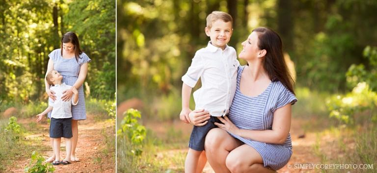 Mommy and Me photography session by Atlanta family photographer