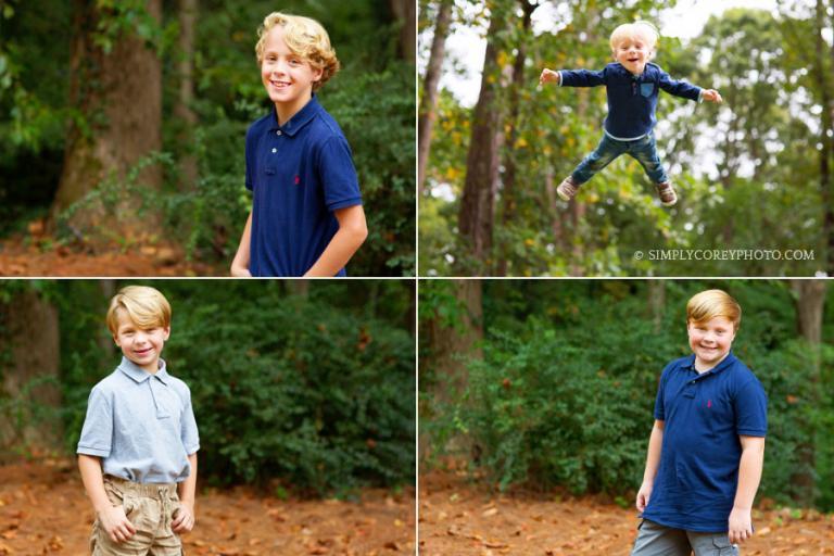 four boys by Atlanta child photographer