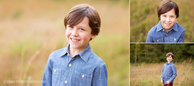 outdoor portraits by Atlanta children's photographer