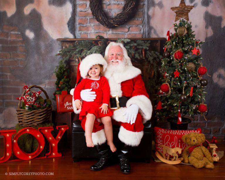Atlanta Photographer Santa Claus Mini Sessions
