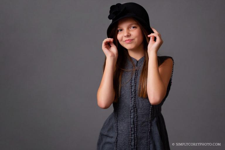 headshot photographer Carrollton, GA children's studio portraits
