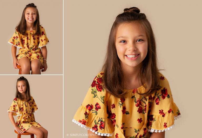 children's photographer near Carrollton, Georgia; child studio portraits