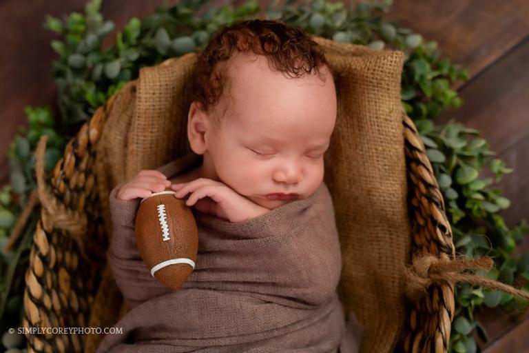 Atlanta newborn photographer, studio portrait