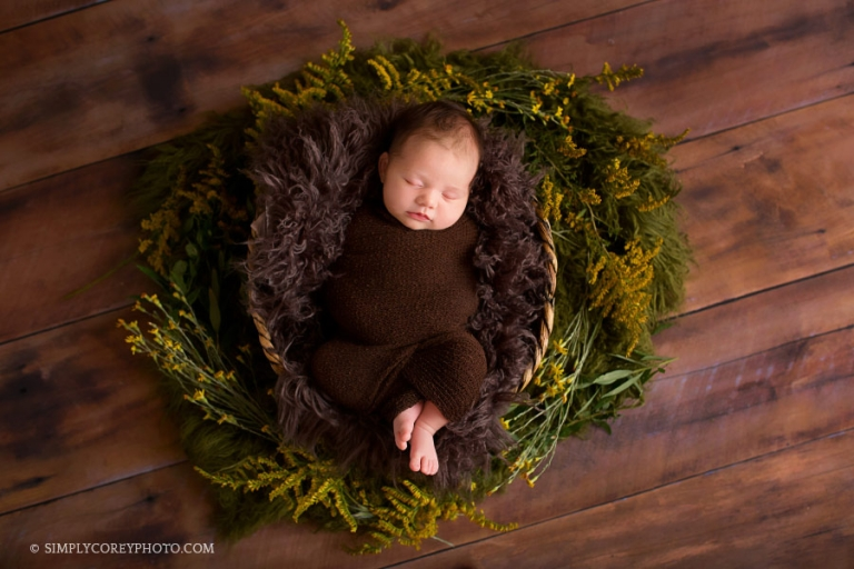 Atlanta newborn photographer, studio session