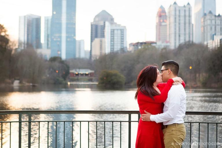 Atlanta wedding proposal photographer