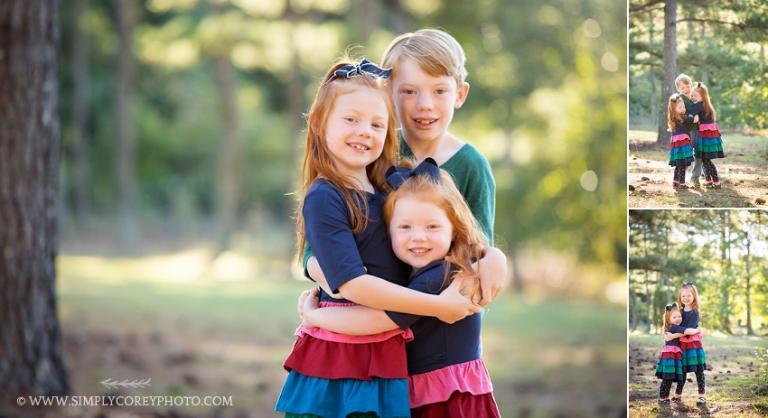 outdoor portraits by Atlanta child photographer