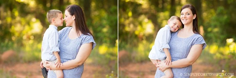 Mommy and Me session by Atlanta family photographer