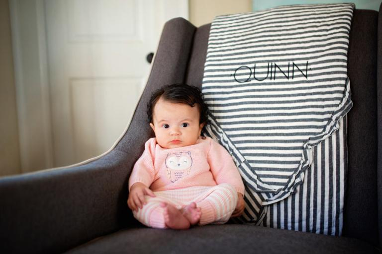 Atlanta baby photographer, in home lifestyle photography