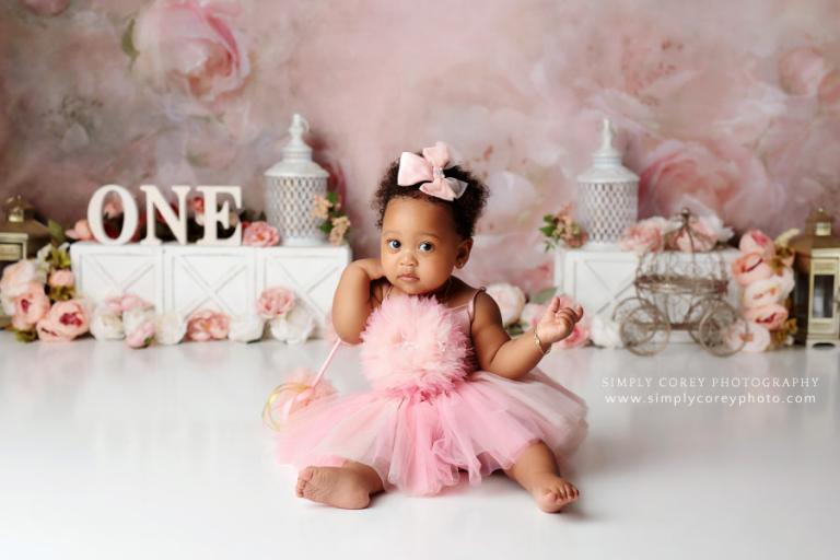 Atlanta baby photographer, studio one year session