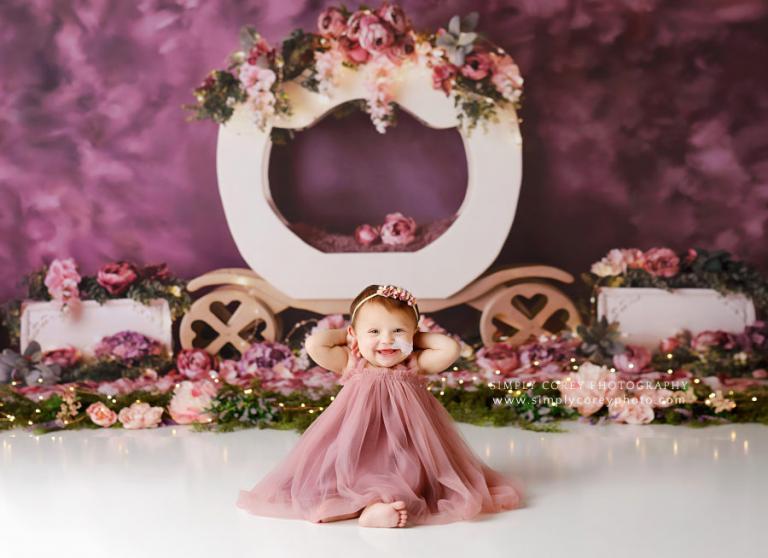 Atlanta baby photographer, cake smash photography